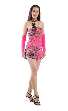 Alluring Asian Mini Dress Asian Dresses