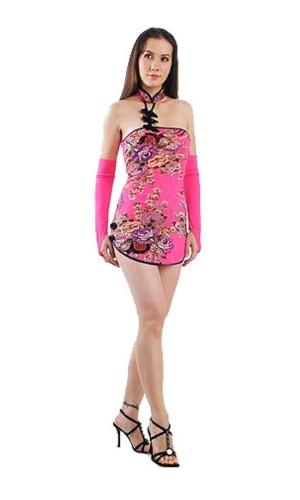 Alluring Asian Mini Dress Asian Dresses