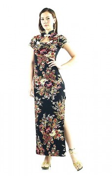 Alluring Black Chinese Dress Asian Dresses