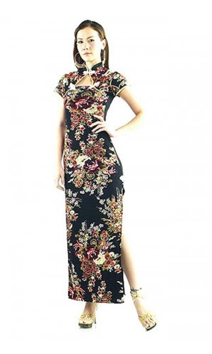 Alluring Black Chinese Dress Asian Dresses