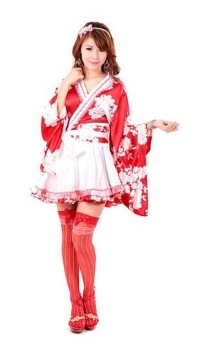 Asian Kimono with Bow Kimono Dresses