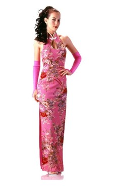 Beautiful Pink Cheongsam