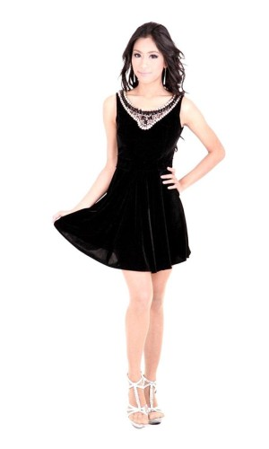 Black Cocktail Dress Short Dresses