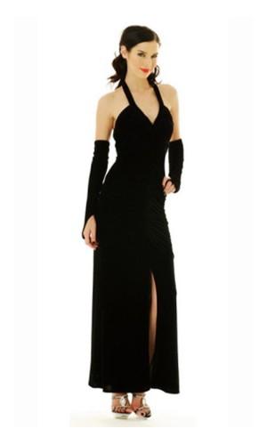 Black Evening Dress Long Dresses