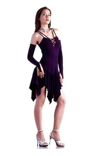 Chic Purple Dress Short Dresses