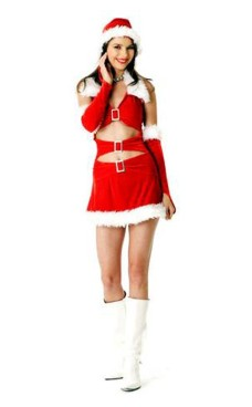 Chic Santa Dress Christmas Dresses