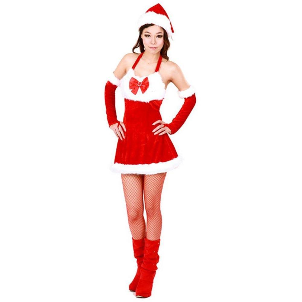 Christmas Santa Girl Costume