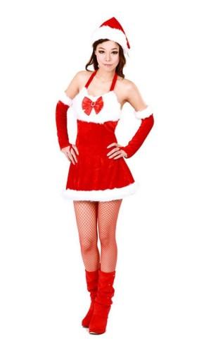 Christmas Santa Girl Costume Christmas Dresses