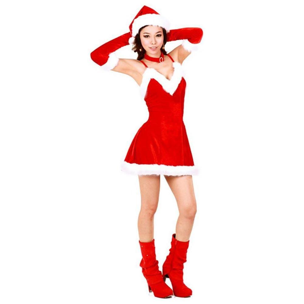 Cutie santa dress christmas dresses
