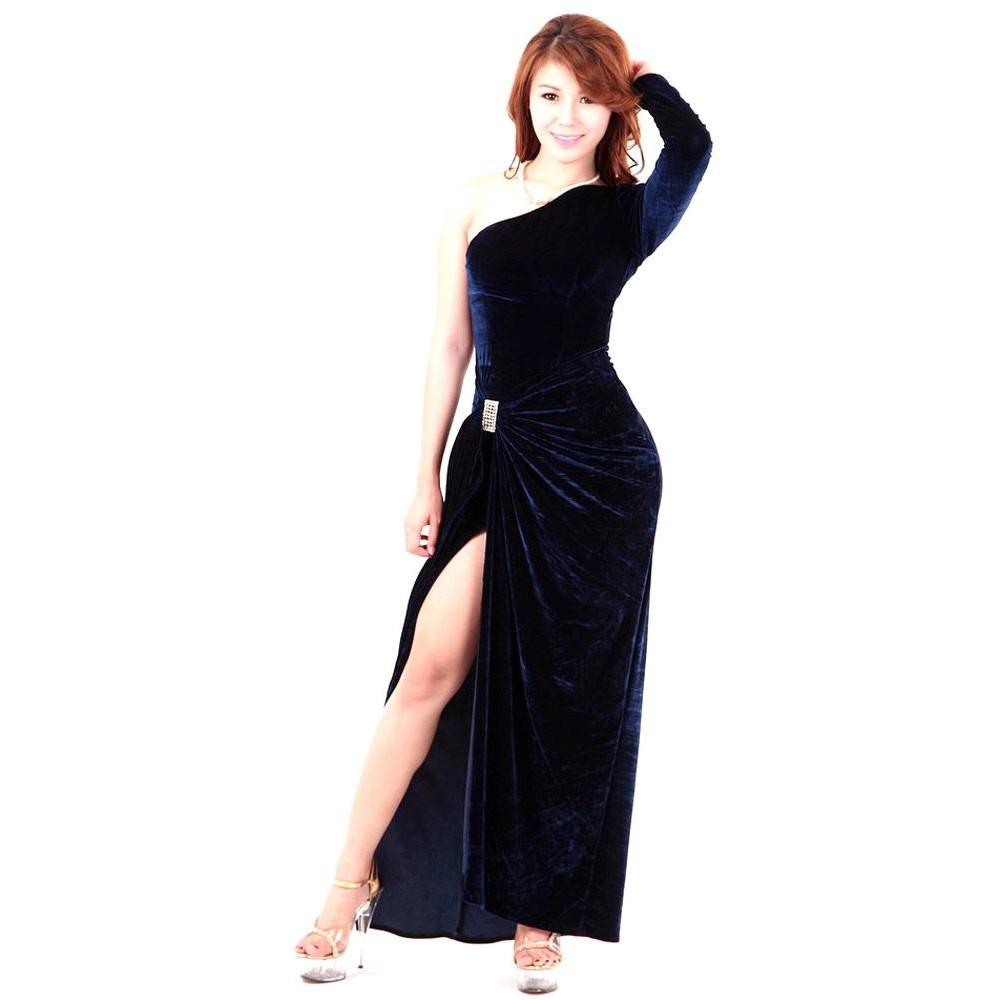 Dark Blue Dress 70