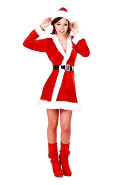Elegant Christmas Costume