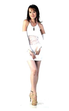 Elegant Short White Dress Short Dresses