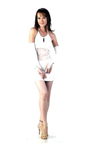 Elegant Short White Dress Short Dresses