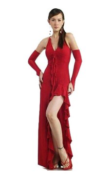 Exquisite Red Party Dress Long Dresses