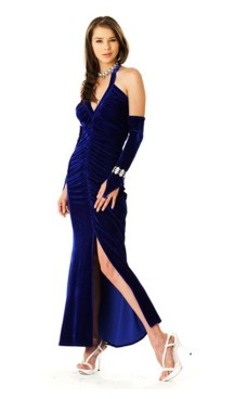 Fine Blue Evening Dress Long Dresses