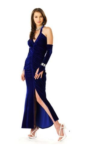 Fine Blue Evening Dress Long Dresses