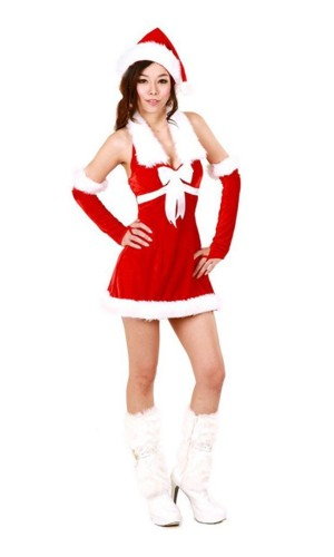 Flirty Santa Dress Christmas Dresses