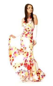 Floral Salsa Dress Long Dresses