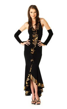 Glamorous Black Dress Long Dresses