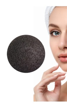 Konjac sponge with bamboo charcoal Skin care