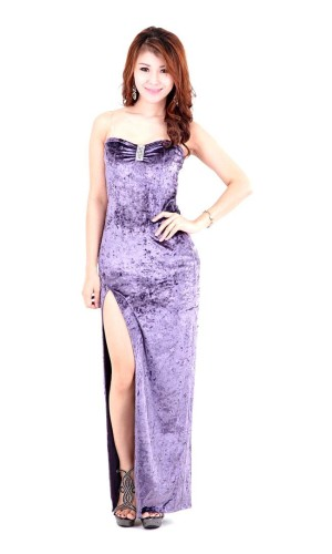 Lavender Evening Dress Long Dresses