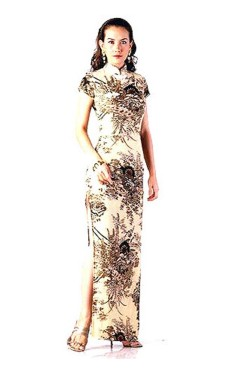 Luxurious Asian Gown