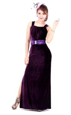 Luxurious Purple Evening Dress