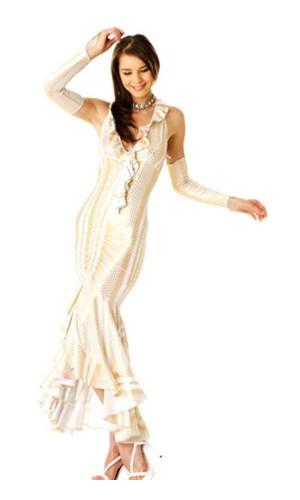 Magnificent Gold Dress Long Dresses