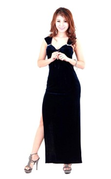 Magnificent Midnight Black Dress Long Dresses