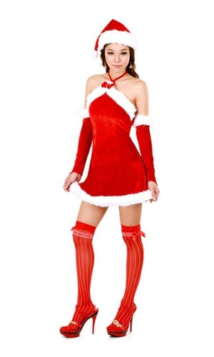 Naughty Santa Dress Christmas Dresses