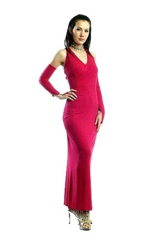 Pink Evening Dress Long Dresses
