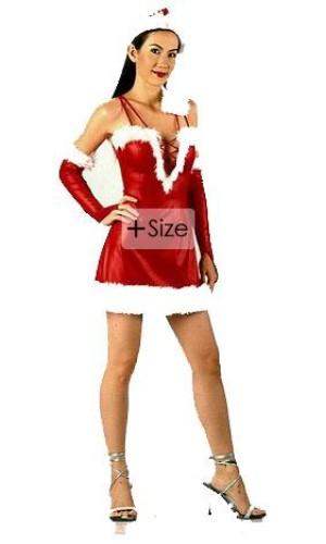 Plus Size Santa Dress Christmas Dresses