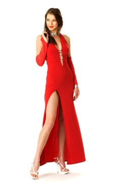 Red Evening Dress Long Dresses
