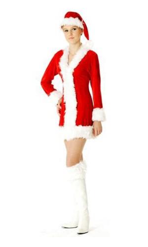 Santa Claus Costume Christmas Dresses