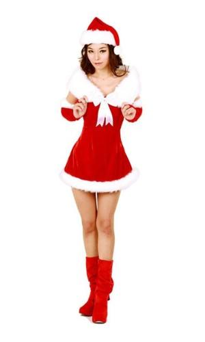 Santa Duchess Costume Christmas Dresses