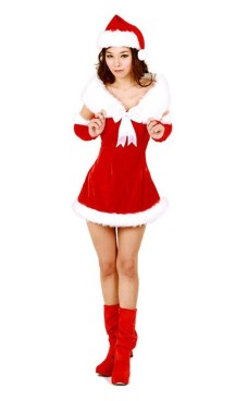 Santa Duchess Costume