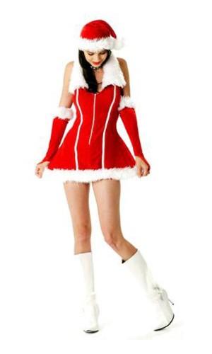 Santa Girl Costume Christmas Dresses