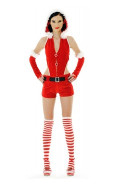 Santa Girl Romper Christmas Dresses