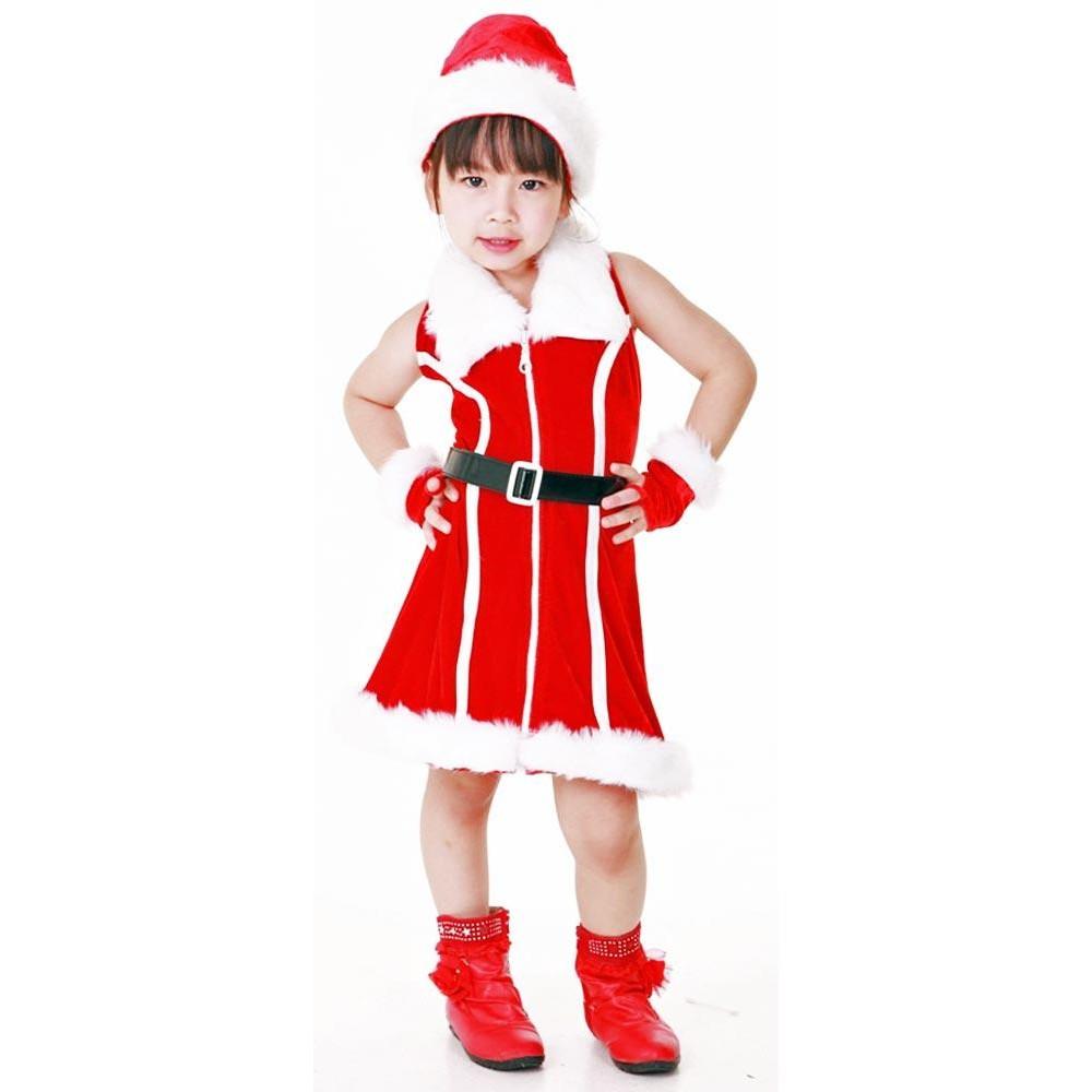 4ca0f6586de1 Santa Kids Costume - Children's Christmas Costumes