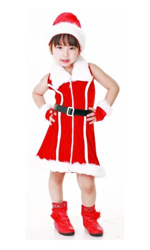 Santa Kids Costume Children's Christmas Costumes
