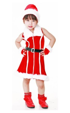 Santa Kids Costume Children's Christmas Costumes