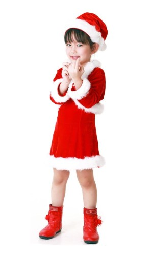 Santa Kids Jacket Costume Children's Christmas Costumes