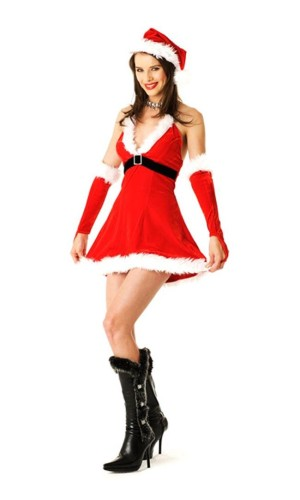 Santa Princess Costume Christmas Dresses