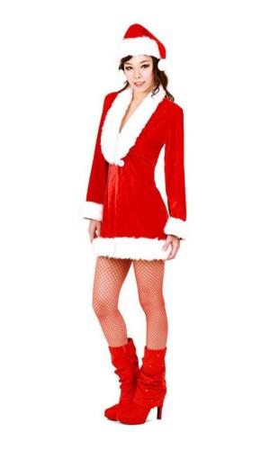 Santa Queen Costume Christmas Dresses