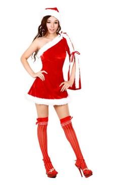 Santa Queen Dress Christmas Dresses