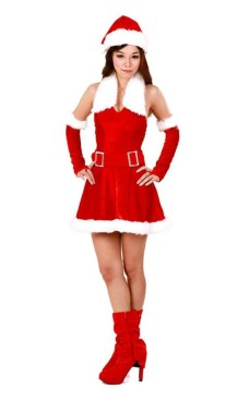 Santa's Helper Dress Christmas Dresses