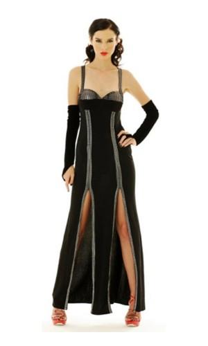Sexy Black Dress Long Dresses