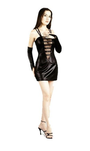 Sexy Black Mini Dress Short Dresses