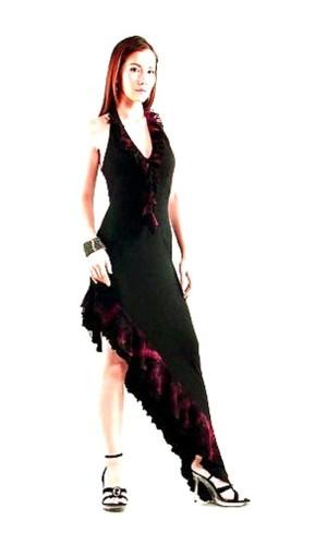 Sexy Flamenco Dress Long Dresses