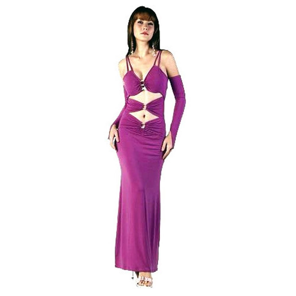 Sexy purple long dress that necessary